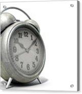 Table Clock Acrylic Print