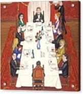 Table For Ten Acrylic Print
