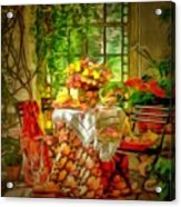 Table For Two In Ambiance Acrylic Print