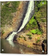 Table Mountain Waterfalls Acrylic Print