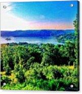 Table Rock Lake Acrylic Print