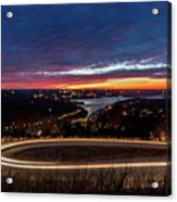 Table Rock Lake Night Shot Acrylic Print