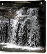 Table Rock South Carolina Water Fall Acrylic Print