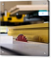 Table Saw Acrylic Print