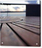 Table Texture Acrylic Print