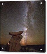 Table Top Milky Way Acrylic Print