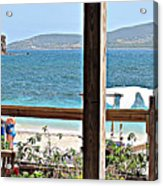 Table With A View Acrylic Print