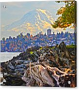 Tacoma In The Fall Acrylic Print