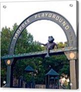 Tadpole Playground Boston Acrylic Print