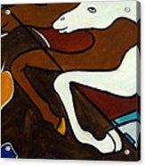Taffy Horses Acrylic Print