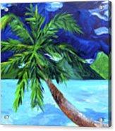 Tahiti Beach Acrylic Print