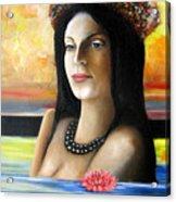 Tahiti Dreaming Acrylic Print
