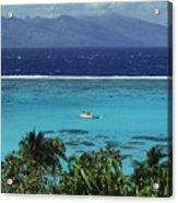 Tahiti, Moorea Acrylic Print
