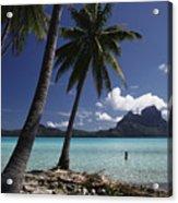 Tahiti View Acrylic Print