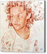 Tahitian Girl Acrylic Print