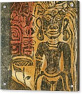 Tahitian Idol Acrylic Print