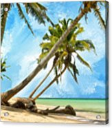 Tahitian Idyll Acrylic Print