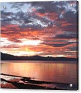 Tahoe June Sunset Acrylic Print