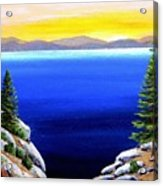 Tahoe Morning Acrylic Print