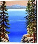 Tahoe Notch Acrylic Print