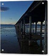 Tahoe Pier Acrylic Print
