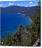 Tahoe Rim Trail Acrylic Print