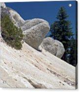 Tahoe Rocks Acrylic Print