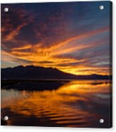 Tahoe Sunset Luminosity Acrylic Print