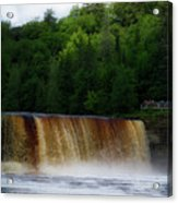 Tahquamenon Lower Falls Upper Peninsula Michigan 10 Acrylic Print