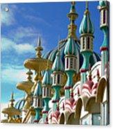 Tai Mahal Casino Atlantic City Acrylic Print