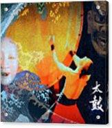 Taiko Drumming Acrylic Print