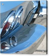 Taillight Reflections Acrylic Print