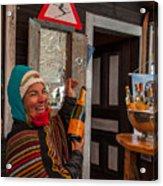 Taimi In Zermatt Switzerland Acrylic Print