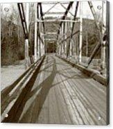 Taiya River Bridge #1 Acrylic Print