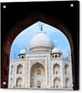 Taj Archway Acrylic Print