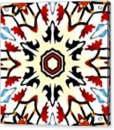 Taj Mahal Kaleidoscope Acrylic Print