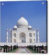 Taj Mahal Landscape Acrylic Print