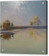 Taj Mahal Sunrise Acrylic Print