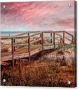 Take A Long Walk Into Dawn Acrylic Print