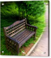 Take A Pause In Your Busy Life Acrylic Print