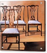 Take A Seat Acrylic Print by Denise H Cooperman