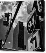 Take A Turn, Chicago, Il Acrylic Print