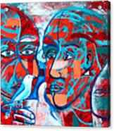 Take Care  My Love Acrylic Print