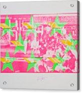 Take Five 3 Acrylic Print