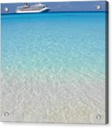 Take Me Back To Half Moon Cay Acrylic Print