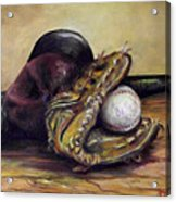 Take Me Out To The Ball Game Acrylic Print by Deborah Smith