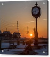 Take Time To Remember Seaside Park Nj Acrylic Print