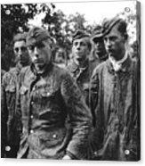 taken prisoner in Normandy Acrylic Print