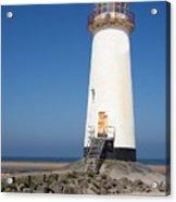 Talacre Lighthouse And Beach. Acrylic Print