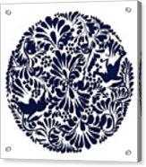 Talavera Design Acrylic Print